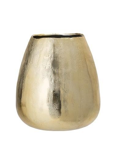 Warm Design Porselen Vazo Altın